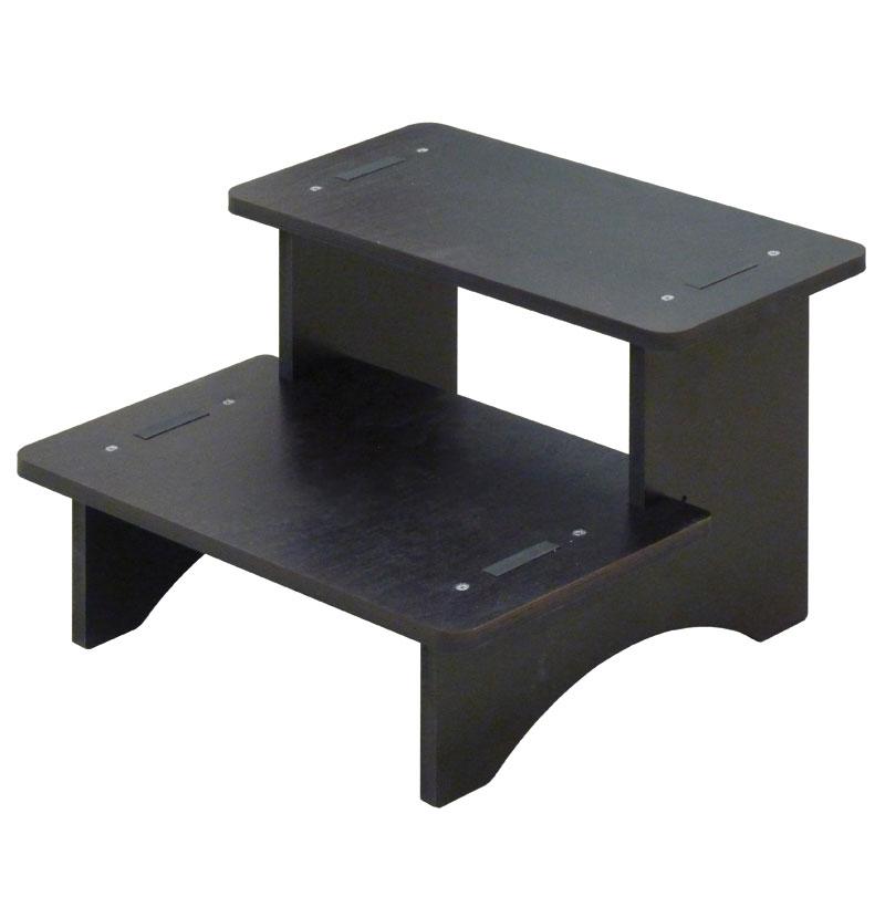 marche pied bois quipement cabine. Black Bedroom Furniture Sets. Home Design Ideas